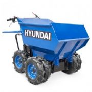 Hyundai HYMD500 196cc 4-Wheel Drive 500kg Payload Mini Dumper / Power Barrow